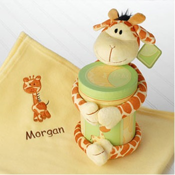 JoJo Giraffe Gift Set - Click Image to Close