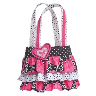 Hot Jazz Ruffle Tote