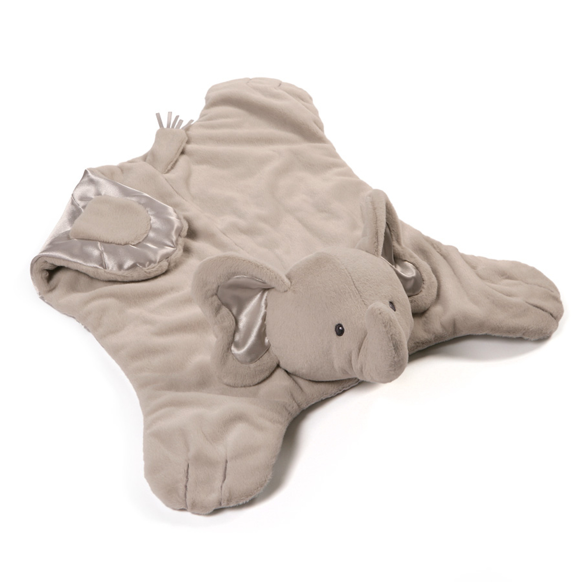 Bubbles Elephant Comfy Cozy Gray