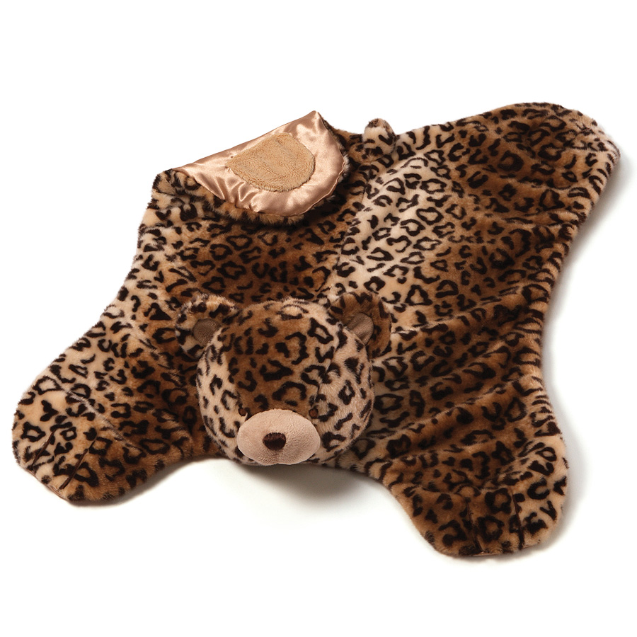 Jayme Leopard Print Bear - Click Image to Close