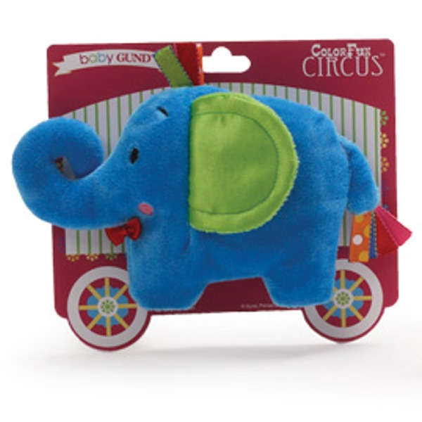 Color Fun Circus Crinkles - Elephant