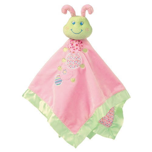 Cutsie Caterpillar Baby Blanket - Click Image to Close