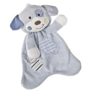 "Woof Woof Puppy Lovey - 12"" - Click Image to Close"