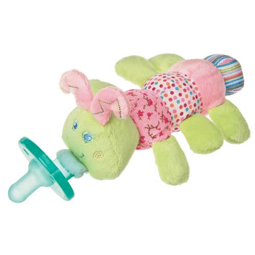 "Cutsie Catterpillar WubbaNub Pacifier 6"" - Click Image to Close"