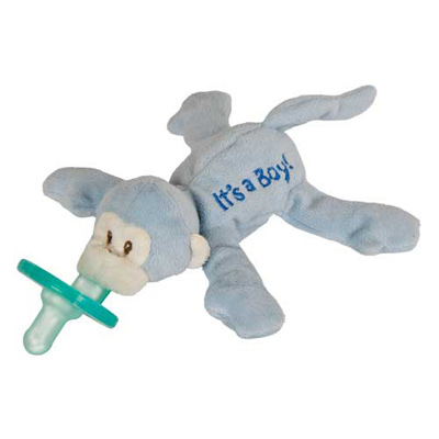 """It's a Boy"" WubbaNub Pacifier - 7"""