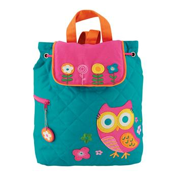 Teal Owl Backpack