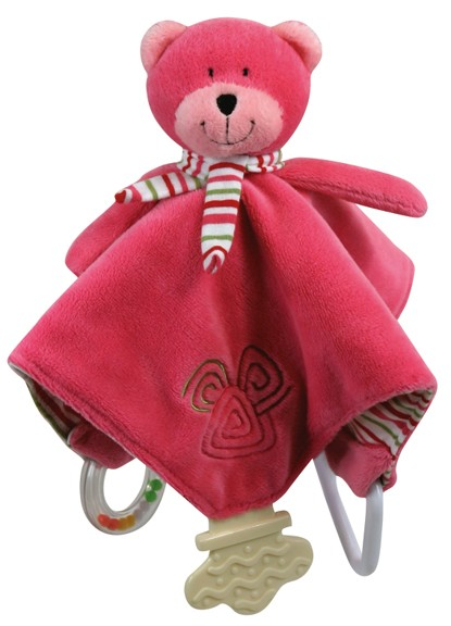 Bobbi the Bear Chewbie - Pink