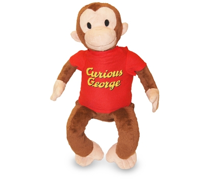 Curious George Zoobie